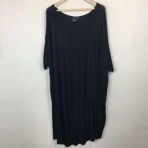 Asos Curve Oversized Long Line Tee